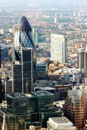 Gherkin Gherkin Building London London City City Built Structure Building Building Structures No People United Kingdom Offices Day Outdoors Battle Of The Cities