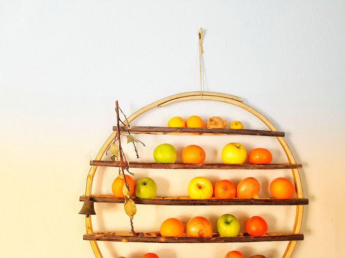 fruits dish Design Decoration Fruit Hanging Basket Citrus Fruit Food And Drink Grapefruit Orange - Fruit Granny Smith Apple Craft Product Apple - Fruit