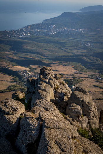 Crimea Hiking Nature Rock Touring Travel Adventure Alushta Blacksea Demerdji Landscape Mountain Outdoors Sea Sky