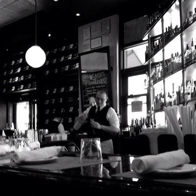 Lunch at Mon Ami Gabi. #645pro #bethesda #iphoneography #jomo IPhoneography Bethesda 645pro Jomo