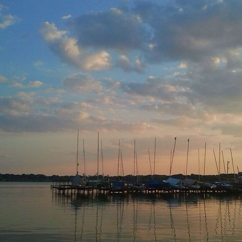 Sunsets White Rock Lake Sailboats
