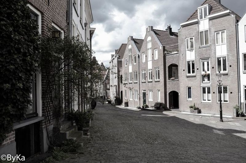 Built Structure Architecture Building Exterior Street Residential Structure City Transportation Residential Building Building Car The Way Forward Sky Cloud Day Outdoors Long Narrow No People Residential District Urbanphotography Deventer, The Netherlands