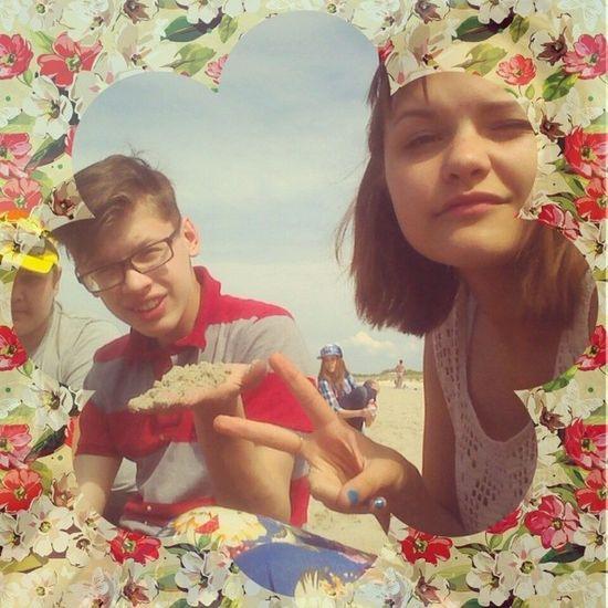 гуляли куршскаякоса коса пляж лето песок море круто Яся