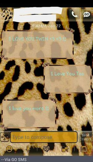 Me & My Twin Messages >>> ♡