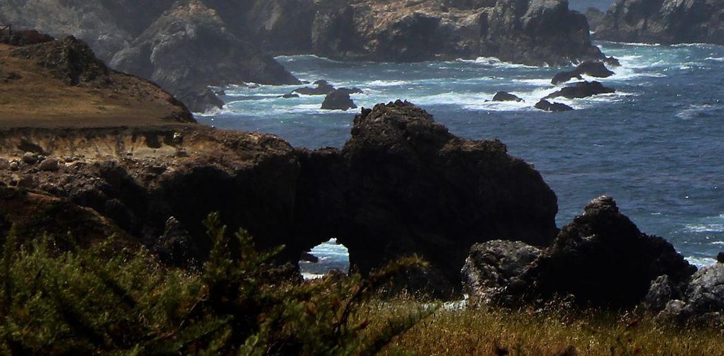 The Rugged Coast Of California