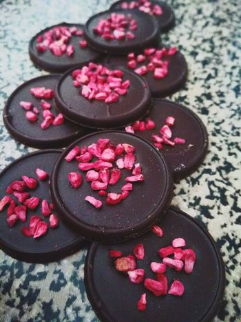 Chocolate&framboesa Red Pink Color No People Food Raspberry Maroon Chocolate Framboesa