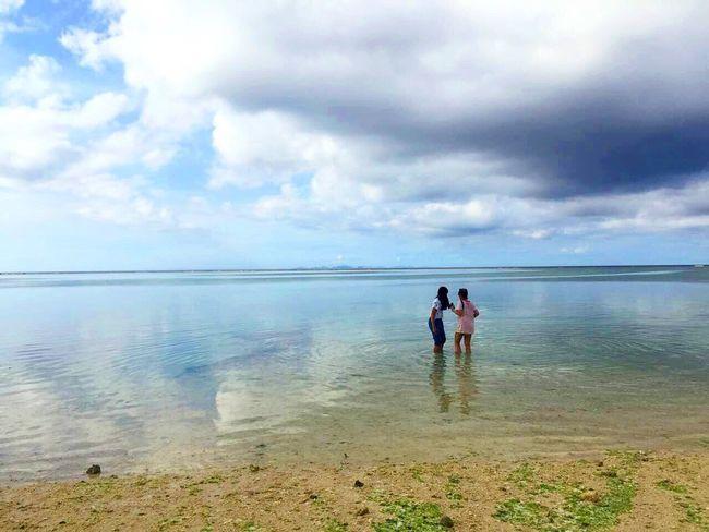 Okinawa Japan Sky And Sea Holiday
