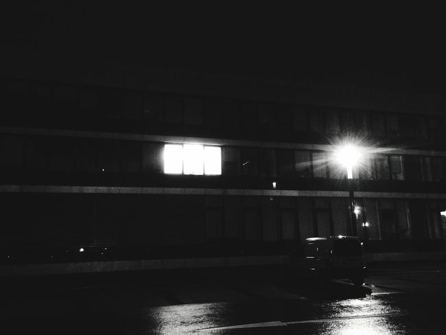 Blackandwhite Contrast Building
