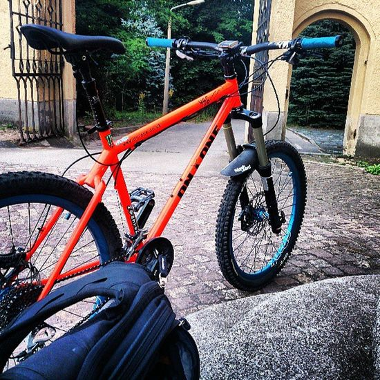 First Ride with the new Fork Suntour Duroloux 160mm travel. Feel really good. One more day left and then of to the Bikepark Rabenberg! Mountainbike MTB Maxxis Allmountain enduro ononebikes