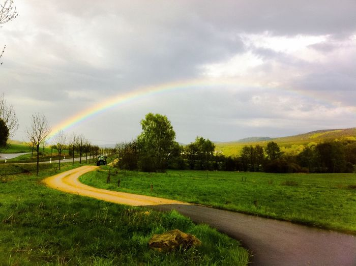 Pretty rainbow First Eyeem Photo
