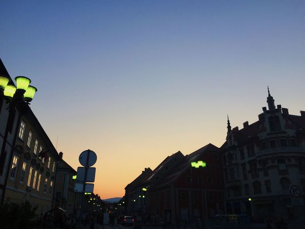 Visit of Maribor in the evening. Hanging Out Urban Geometry Urban Landscape Sunset Streetphotography From Vienna To Milan
