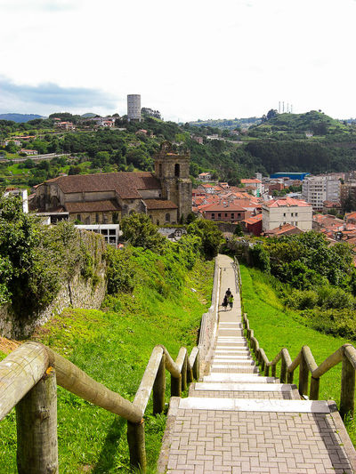 Laredo Leading Nature Nature_collection Old On A Walk Outdoors Perspective SPAIN Stairs Stairs_collection The Past Village Village View Landscape Landscape_photography