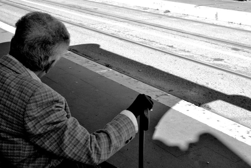 Monochrome Streetphotography Streetphoto_bw Woman Power This Is Aging