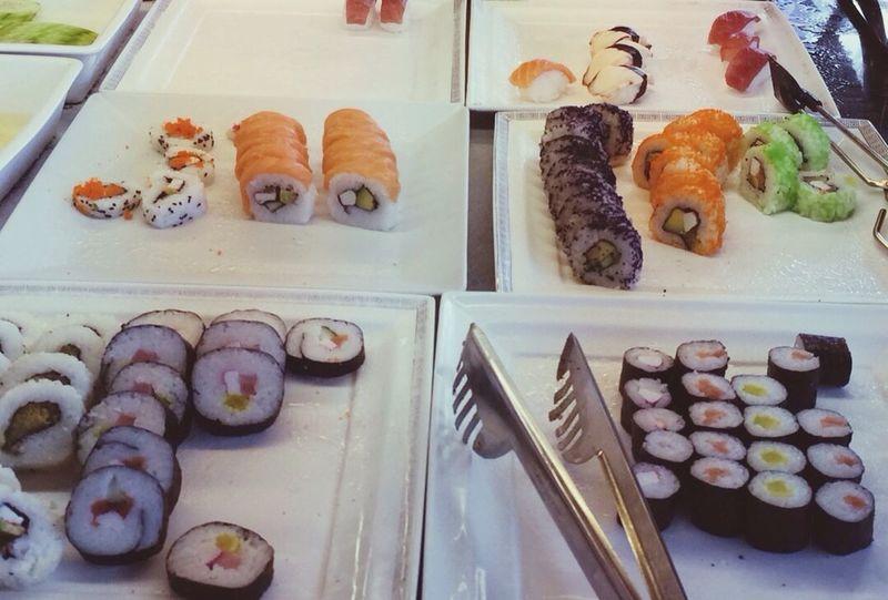 Food Porn Awards sushi attack Sushi Time Japanesefood EatAllYouCan Buffetstyle Eyeemfood Foodforthought IPhoneography Foodpornasia Vscocamnorway