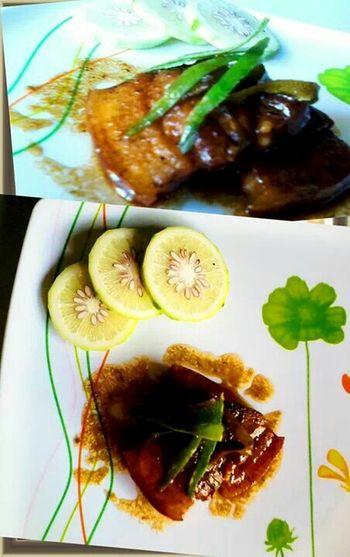 A signature Filipino dish.. ADOBO @INTOMUMOUF