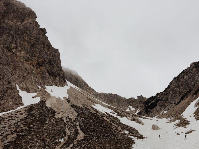 Savinjsko sedlo, Slovenia, 2017. Savinjsko Sedlo Kamnik-Savinja Alps Slovenia IfeelsLOVEnia Mountain Snow Winter Rock - Object Rock Formation Landscape Outdoors Mountain Range Physical Geography Climbing Hiking Adventure