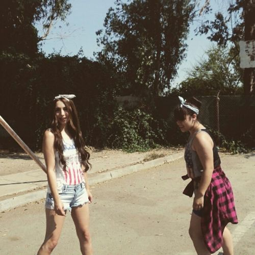 Skater Girls Skateboarding Skater Girl Summer Sun Outfit Ootd Long Hair Hipster Red Lips
