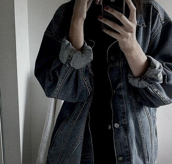 Hello Hi! Girl Goodnight Jeansjacket