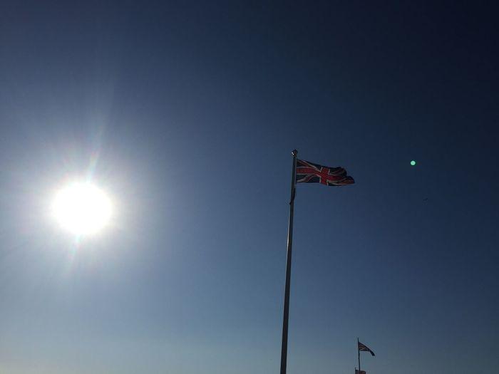 The Union Flag, Devon, UK Flag Patriotism Sunbeam First Eyeem Photo