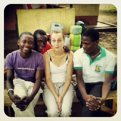 Memories.. From left to right.. Me, Divine, Anika, Peter.. After first year TTFPP (third trimester field practical program) pix taken at Pong Tamale KampusLife Udsgh Aphotoaday Ghana360