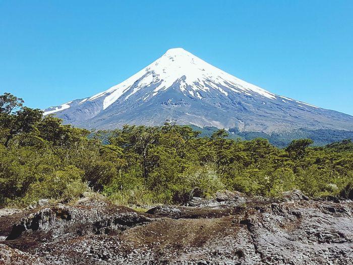 volcán Mountain