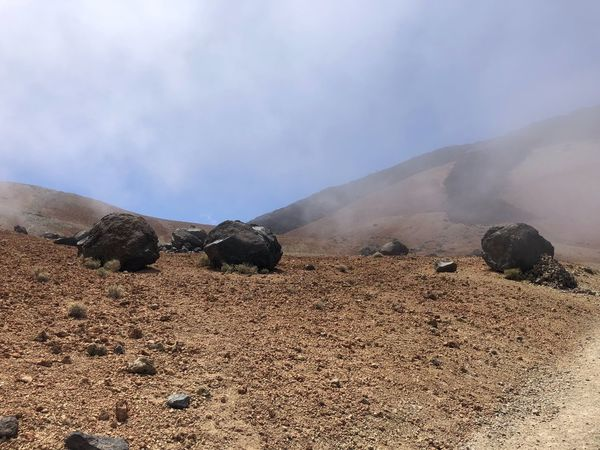 Volcano Teide, Tenerife 🇪🇸 Nofilter Teide National Park Mount Teide Volcano Teide Clouds Hiking Mountain Mountain Beauty In Nature Environment Land Sky Scenics - Nature Day Nature Geology Power In Nature Cloud - Sky