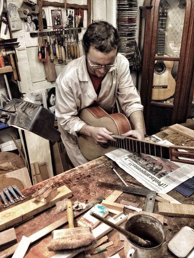 Luthier Guitar Handmade