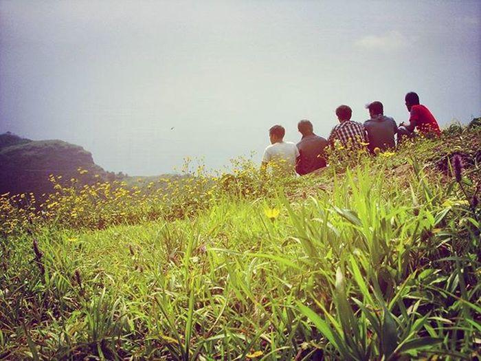 Old memories with friends at lonawala Lonawala Khandala Highway Way Green Caves Puneexpress Love Likes Instagood Canon Beautiful Monsoon Pune Mountains