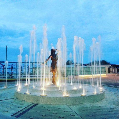 Pescara Igers_pescara Igers_montesilvano Igers_abruzzo Ninfa in Bronzo Naiadi Fontane Fontana