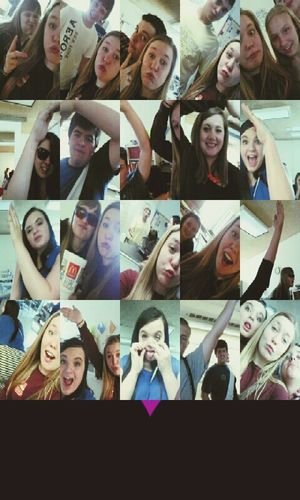 with my best friends in mrs burkes 5th period!♡♡♡