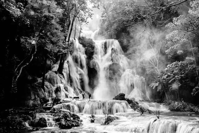 Waterfall - Luang Prabang, Laos