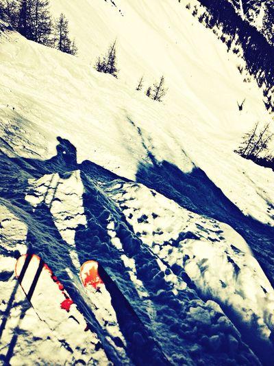 Il en faut peut pour être heureux !! Ski Snow Winter
