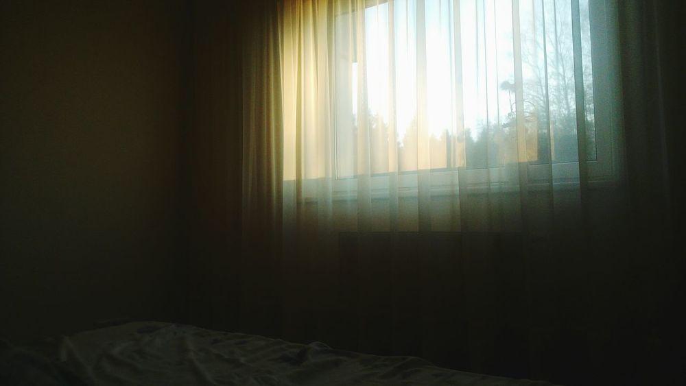 Bedroom Window Sunset No People Estonia