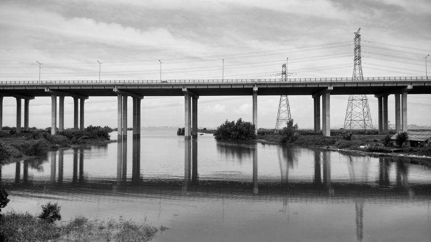 Bridge Highway Seaside Black&white The Architect - 2015 EyeEm Awards