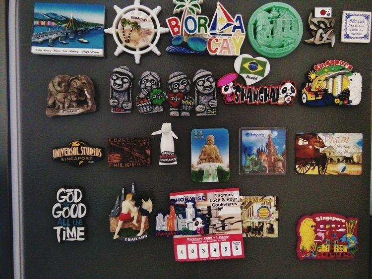 Organized Art Magnet Souvenir Traveltheworld Followforfollow Let's Go. Together.