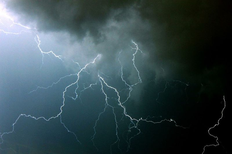 Took this a few years ago from my balcony. Lightning Storm Lightning Spikalim