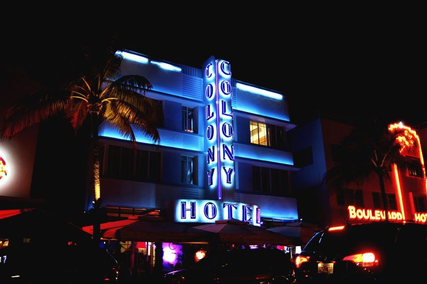 """Colony Hotel"" Vicecity Miamivice Miami"