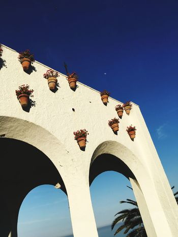 Spain♥ CostadelSol EyeEm Selects Arch Low Angle View Architecture Travel Destinations Day Sky History Blue