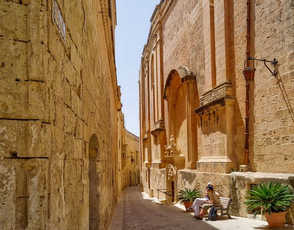 Mdina Hanging Out Outdoors The Great Outdoors - 2016 EyeEm Awards Resting Restful Peace Peaceful Couple Love Loving Life! Beautiful Day Vacation Holiday Traveling Travel Journey Break Architecture History