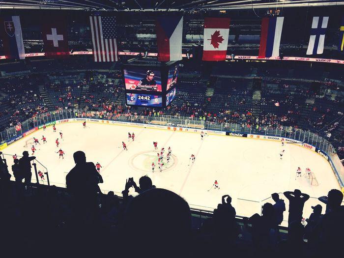 IIHF World Championship 2015  Prague Canada vs. Austria