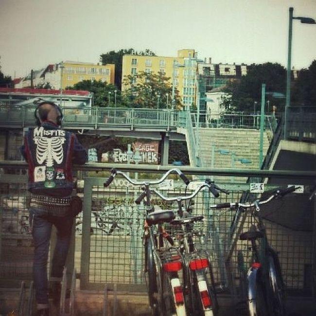 Berlin Warschauerstrasse Fahrrad Misfits