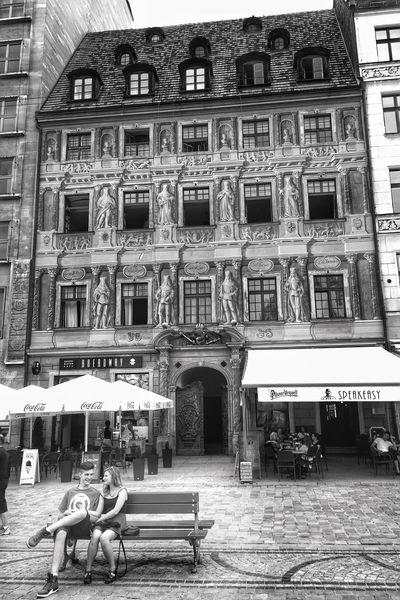 Rynek ratusz NEM Black&white NEM Street NEM Architecture