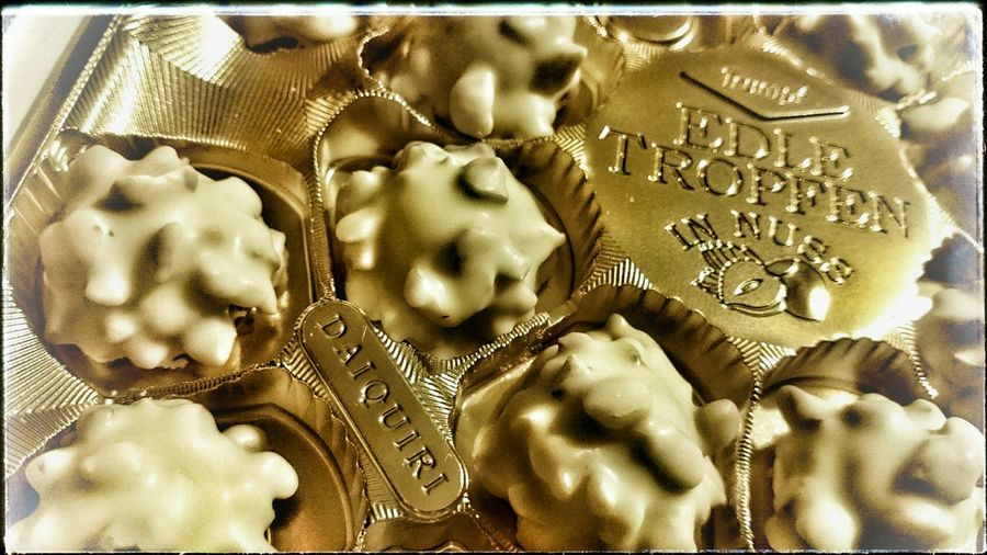 Reminds me of holidays Chocolatelover WhiteCollection Daiquiri Pralinen Testen