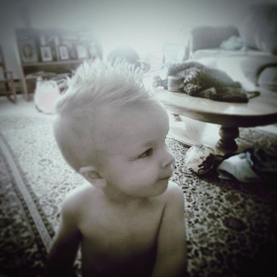 Childhood Children Only One Person Shirtless Child People Focus On Foreground Headshot Indoors  Close-up One Boy Only My Sweet Boy Only Boy That Has My ❤ My Son ❤ Mowhawk N Muggin  Mowhawk Mine ❤ Sioux Falls South Dakota