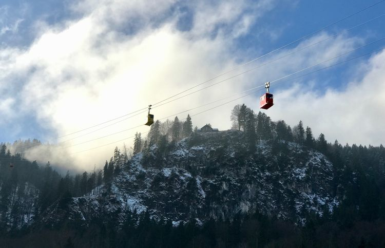 PTGallery Snow Cold Temperature Sky Nature Mountain Overhead Cable Car Winter Low Angle View Cloud - Sky No People Beauty In Nature Weather Tree Cable Outdoors Day Scenics Tranquility Mountain Range Ski Lift EyEmselect EyeEm Best Shots Austria ❤ Snow ❄