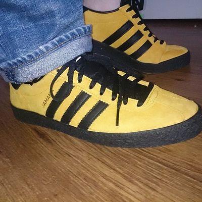 What a shoe, nice soft inner sole and tongue Adidasjamaica Adidasislandseries2015 Gogetthem Thebrandwiththethreestripes Trefoilonmyfeet