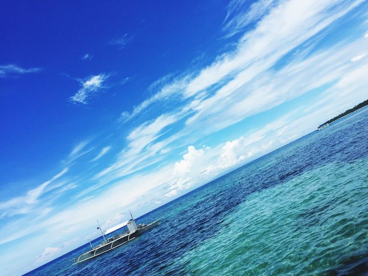 Sea Cloud - Sky Blue Water Beauty In Nature Sky Taking Photos Hello World Check This Out On A Stroll Panglao Life In Bohol Sky_collection Clouds And Sky Sky And Clouds Nature_collection