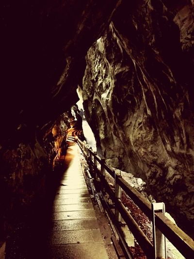 Cave Rock Formation Nature Vacations Beauty In Nature Switzerland Nature Travel Destinations Bad Ragaz Taminaschlucht Tamina Valley Schweiz Adventure Travel Quiet Places EyeEmNewHere Outdoors Photograpghy  Outdoor Photography