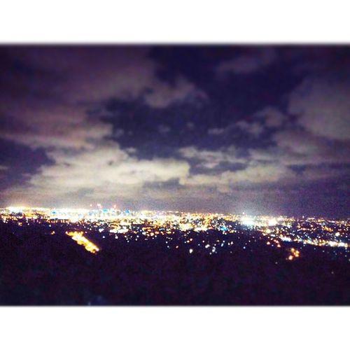 Brisbane Nightview Mount Cootta