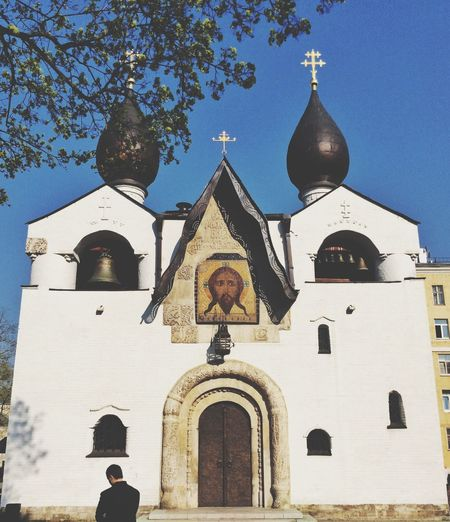 Sunny Church in Moscow ! Relaxing